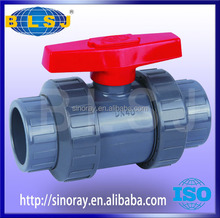 UPVC socket two piece ball valves manufacturers
