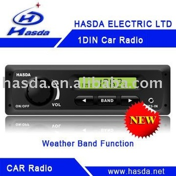 Single DIN Car Radio player
