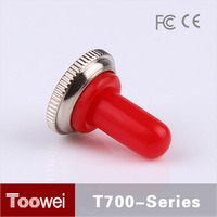 Toowei dustproof waterproof toggle switches cap RED with matel base