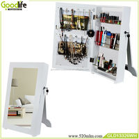 Goodlife Photo frame style wooden makeup mirror