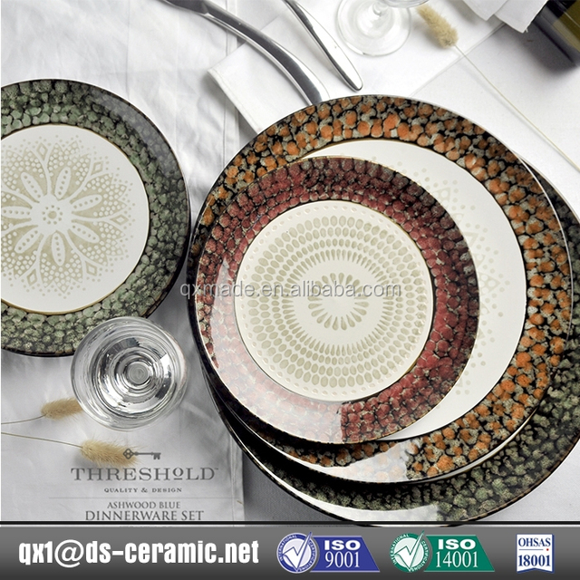 2017 colorful dinnerware sets_Yuanwenjun.com