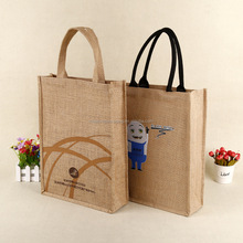 Personalised jute bag with logo