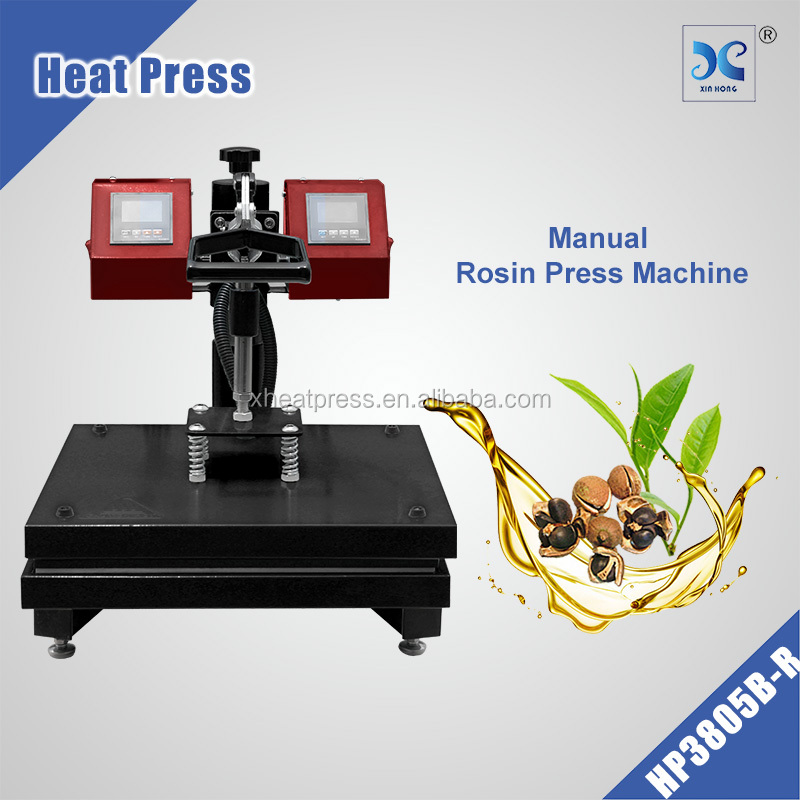 2016 Manual dual plate heater heat press rosin heat press machine