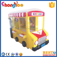 School Bus Coin Operated Crane Machine For Sales