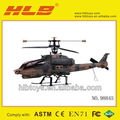 Top sale Helicopter,3.5CH single blade RC helicopter,Apache Helicopter