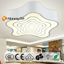 CE/ROHS/LVD Star Shape Modern led ceiling Lamp for Kids bedroom