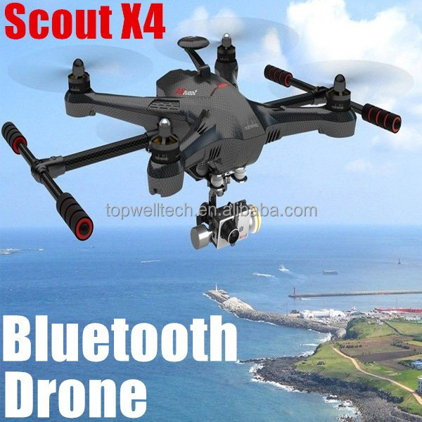 china supplier 2014 Scout X4 drone professional for aerial photography radio ground sation propeller quadcopter