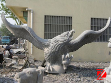 large eagle marble sculpture