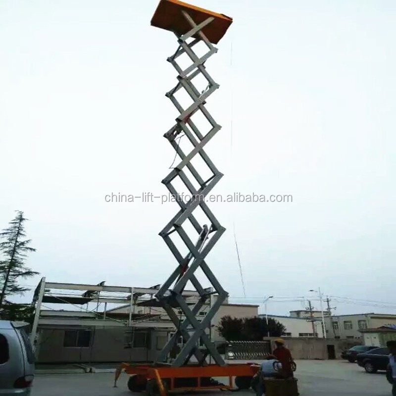 hot-sale scissor lift,mini used scissor lift skylift for sale