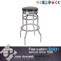Hot sell pretty design commercial furniture modern metal bar stool parts