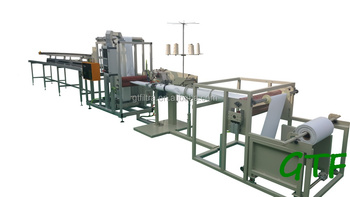 fiberglass bag filter sewing machine line