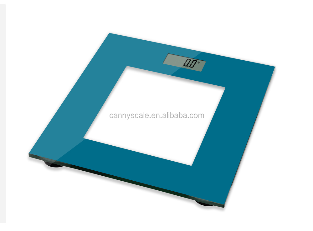 Colorful printed digital bathroom scale body weighing scale