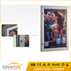 Long Durable Aluminum Frame Lockable Key Open Outdoor Waterproof Advertising Slim Light Box