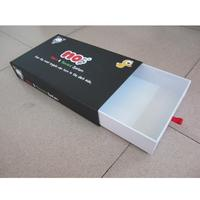 high quality customized paper packaging box for wine bottle carrier with a competitive price