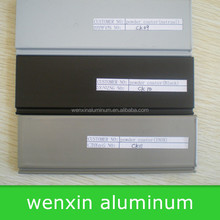 aluminum profile powder coater(INOX Colour)