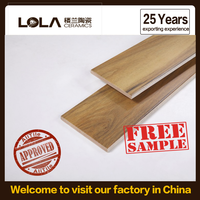 150x900mm wood glazed floor tiles Foshan tiles,25 years factory&exporting experience new alibaba store for sale