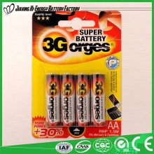 Fashion Designer Made In China Dry Battery R6 Aa Um3 Battery