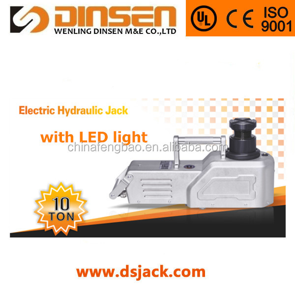 self-developed 10T hydraulic pulling jack with LED light