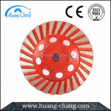 Metal Bond Turbo Stone Diamond Cup Grinding Wheels for Granite and Marble