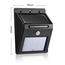 Solar Power Rechargeable Led Wall Light with PIR Motion Sensor 8/16 LEDs Auto Control for Outdoor Indoor rechargeable Lighting