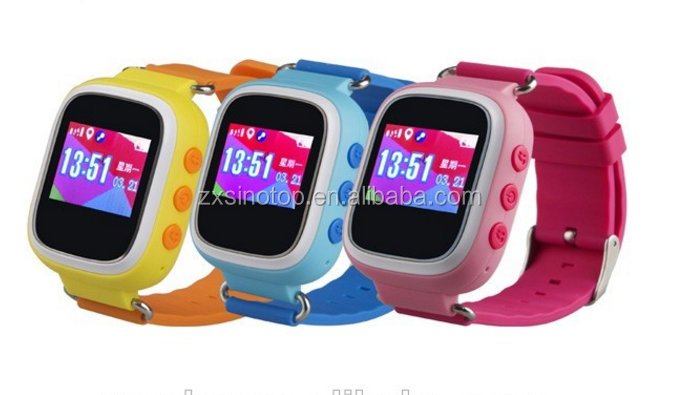 Kids Waterproof Smart Watch With SOS Function Kids GPS Wrist Watch With Monitoring For Anti-Lost