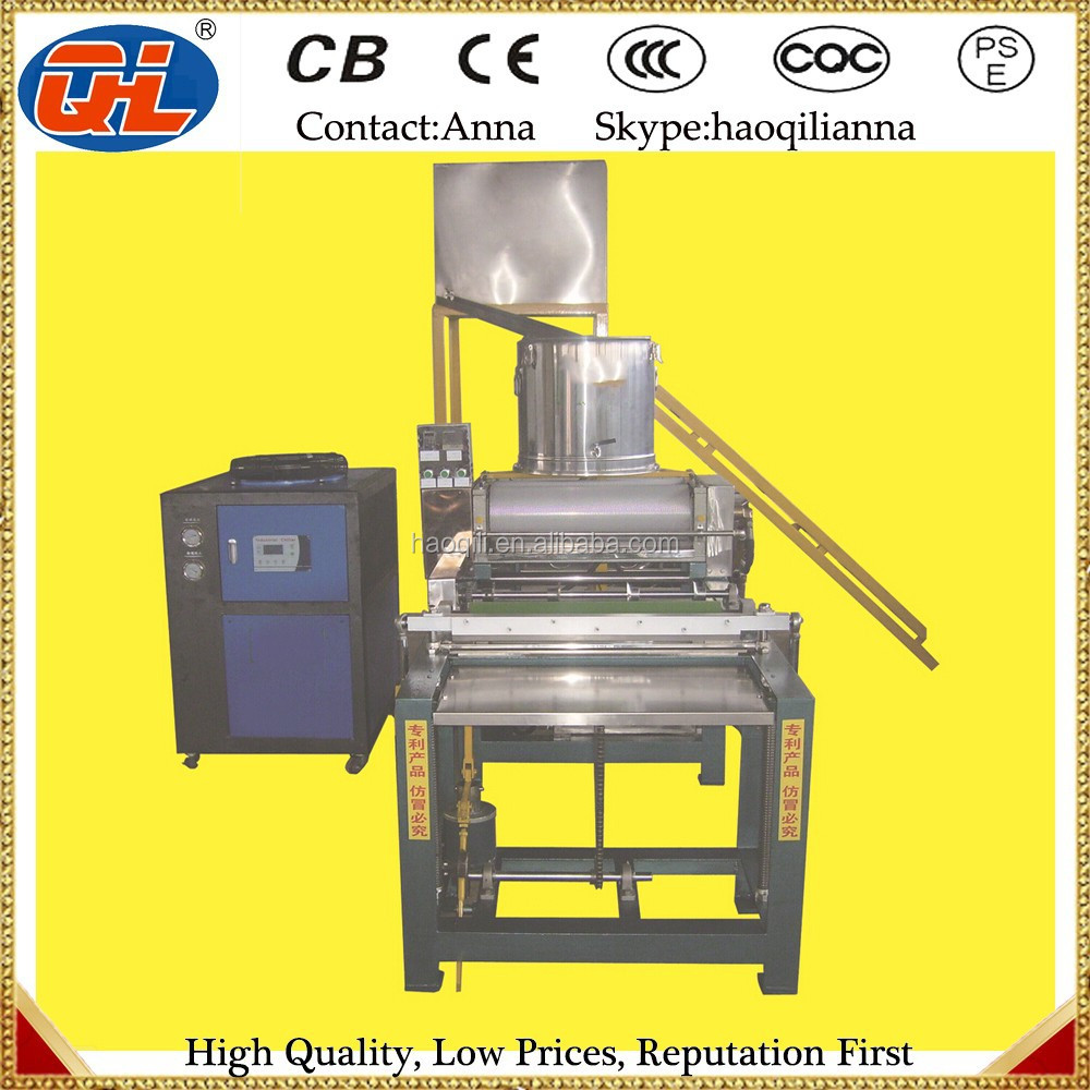 Full automatic 350mm roller beeswax foundation machine | honey bee comb foundation machine for bee keeping