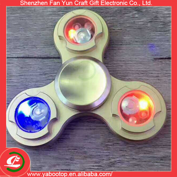 Newest Hand Fidget Spinner With LED Light Promotion
