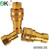Nipples And Couplers Quick Coupling,brass Hydraulic Quick Connect Coupling,male female coupling