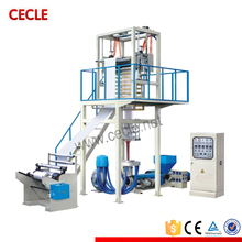 SJ-A50 polyethylene plastic film blowing machine price
