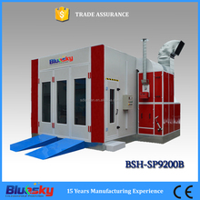 2016 good choice CE approved auto paint oven/used garage equipment sale/spray booth for car