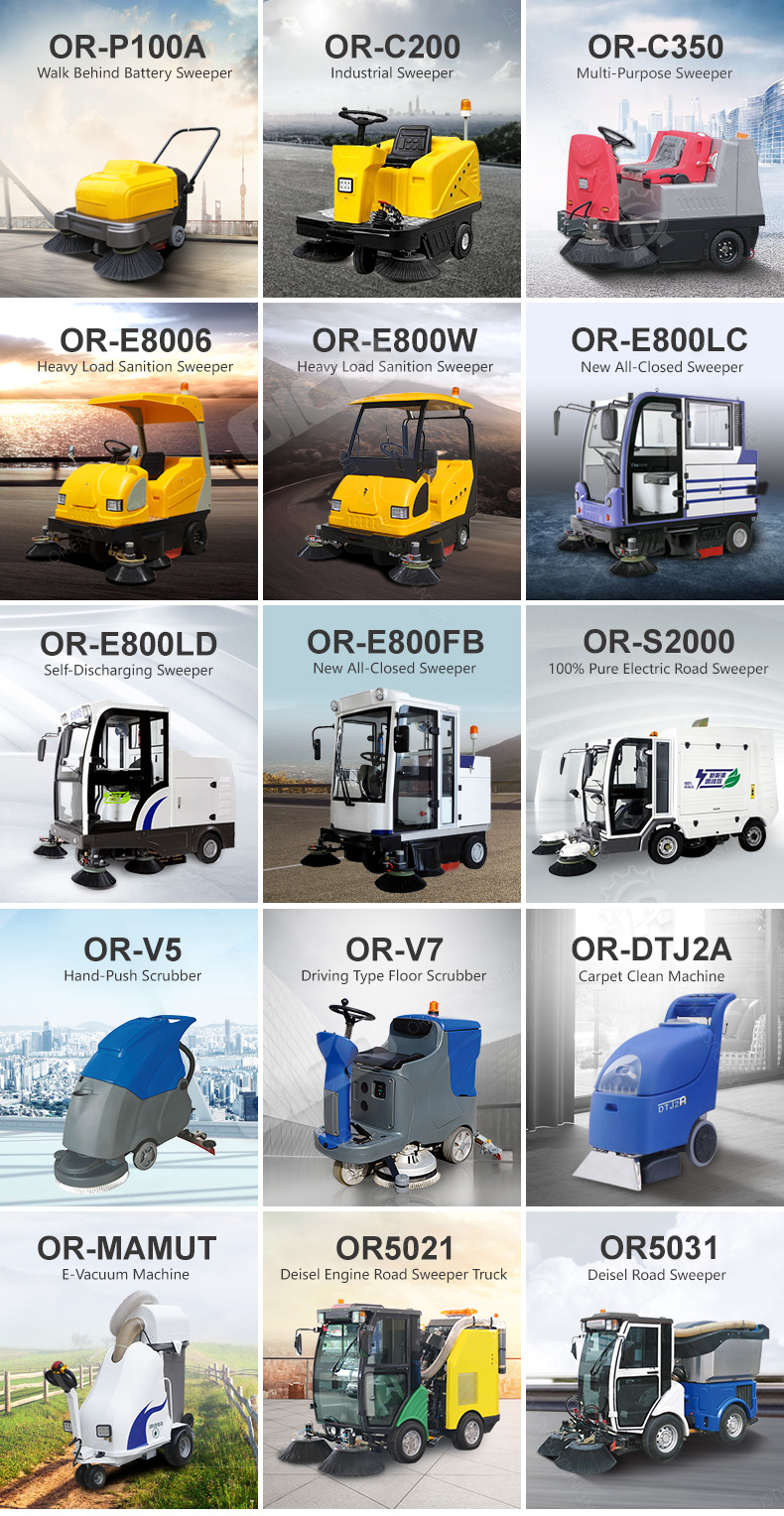 High Quality C200 Airport Sweeping Machine