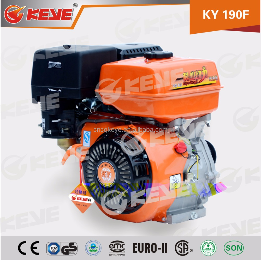 13HP 190F Low Consumption go kart engine with Horizontal Shaft