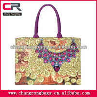 High Qulity and cheap price wholesale canvas printed bag