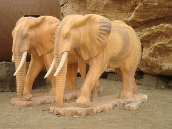 garden hand carving marble The elephant sculpture