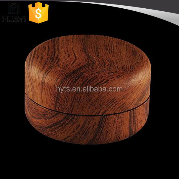 20ml round small empty cosmetic cream container with wooden figure