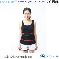 rechargeable battery heating pad / USB hot pack for thermo therapy waist chronic disease