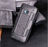 Armor Clip Holster Kickstand Combo Case For HTC One M7/For HTC M8