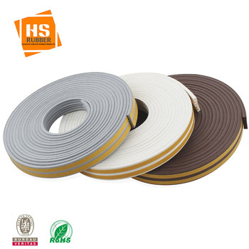 E-type self-adhesive sealing strip for doors and Windows