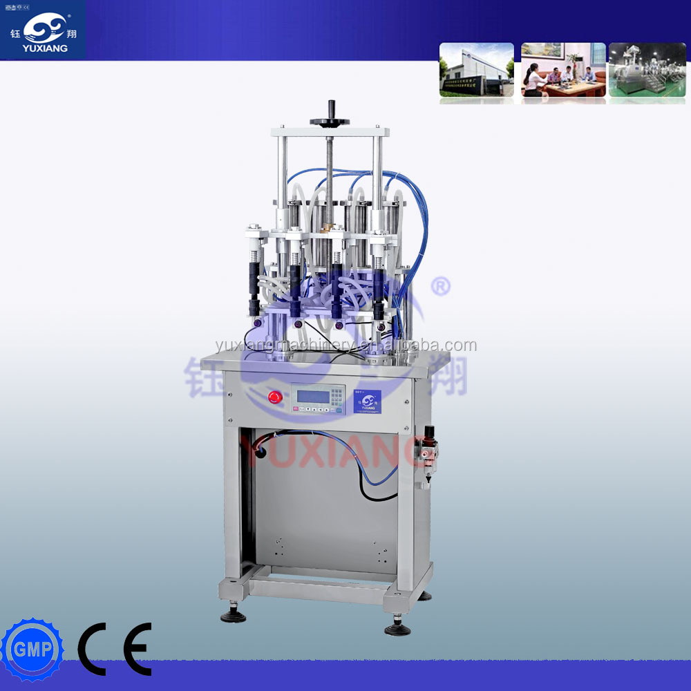 semi automatic perfume filling machine
