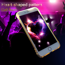 Factory price light up cell phone case mobile phone cover for iphone 7