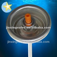methyl ether insecticide aerosol valve for cans
