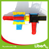 China outdoor playground supplier of kids play park plastic slide