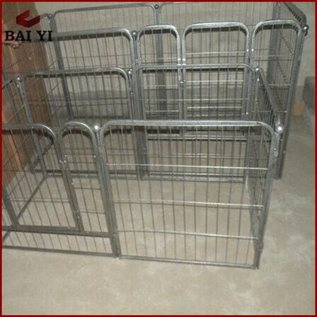 New products cheap 6ft chain link dog kennels cage / large steel dog cage