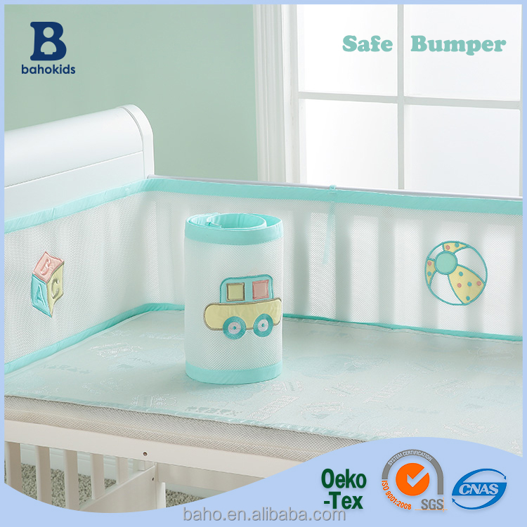 Baho kids Factory Direct Wholesale Top Quality Healthy Safe Baby Bed Bumper