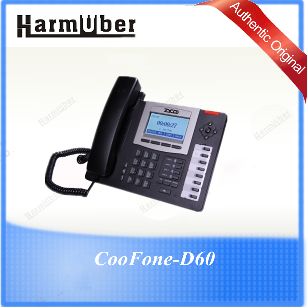 ZYCOO IP Voice Phone CooFone-D60 IP Phone for Office Business