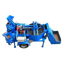 M7MI Diesel Mobile Hydraulic Compressed Earth Blocks Soil Brick Production Line Mud Brick Molding Machine For Sale