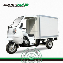 Front Cover Cargo Tricycle with Closed Box