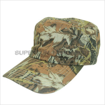 fashionable forest camouflage military caps