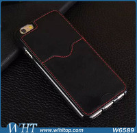 For iPhone 6 Wallet Case, New Phone Case 2015 Ultra Slim Leather for iPhone 6 TPU Case