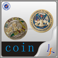 new production coin 3d synthetic enamel custom metal souvenir gold coin